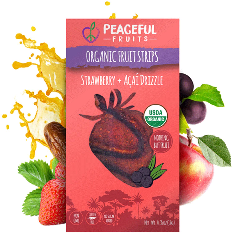 Strawberry + Acai Drizzle
