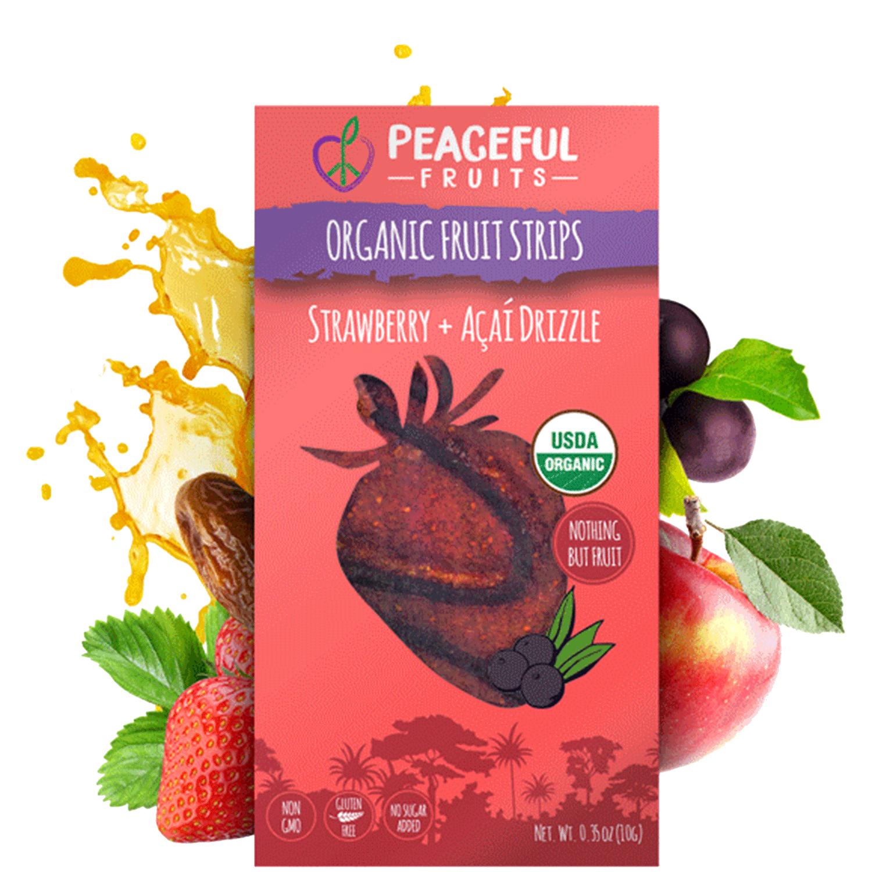 Strawberry + Acai Snacks
