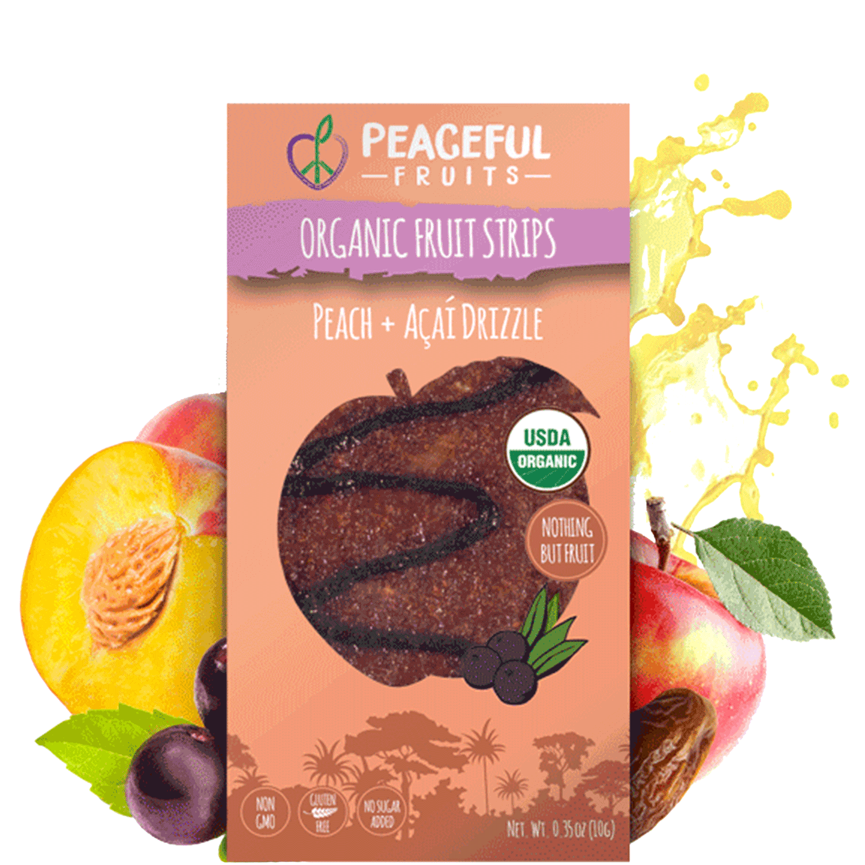 Peach + Acai Fruit Snacks