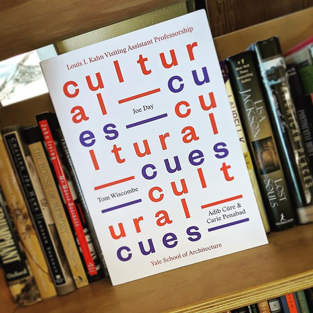 Found this little gem in the bookshelf -Cultural Cues @beersbooks @tom.wiscombe @yalearchitecture @sciarc —- . . .  #tomwiscombe #adibcure #cariepenabad #joeday #sciarc #yale #yaleschoolofarchitecture #studentdesign #architecture #architecturethesis #thesis #manifesto #desvgn