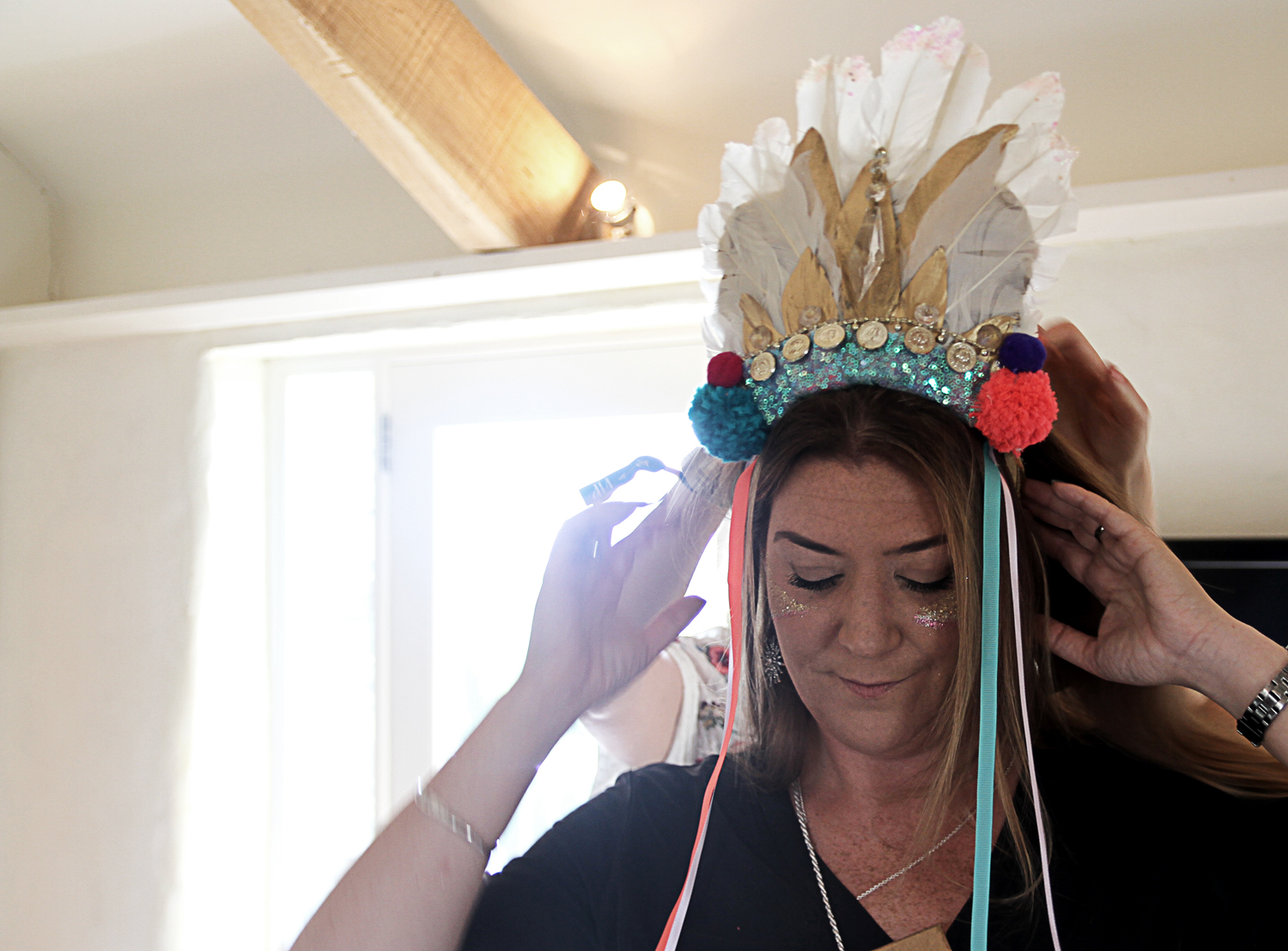 Melonmade Feather Headdress