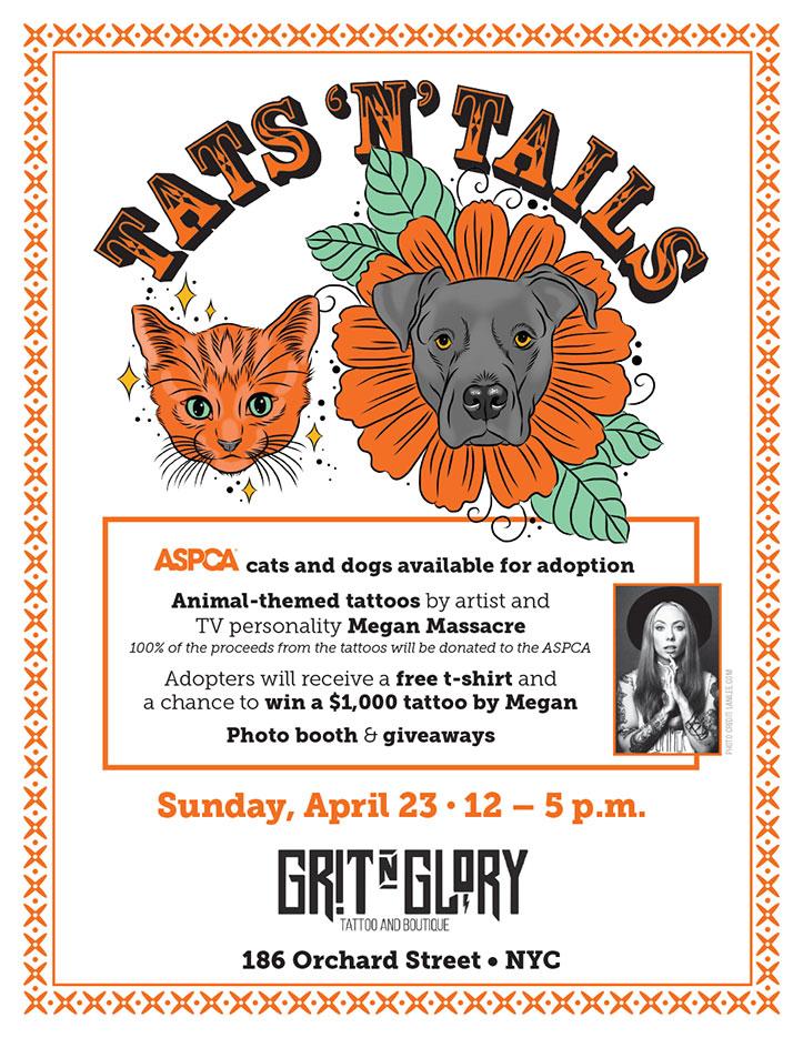 grit-n-glory-tats-n-tails-cat-dog-adoption-event-megan-massacre-nyc