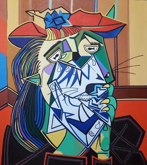 """""""Weeping Cat"""" by Sol Felpeto"""