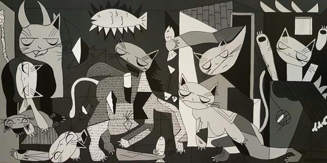 """""""Guernicat"""" by Sol Felpeto"""