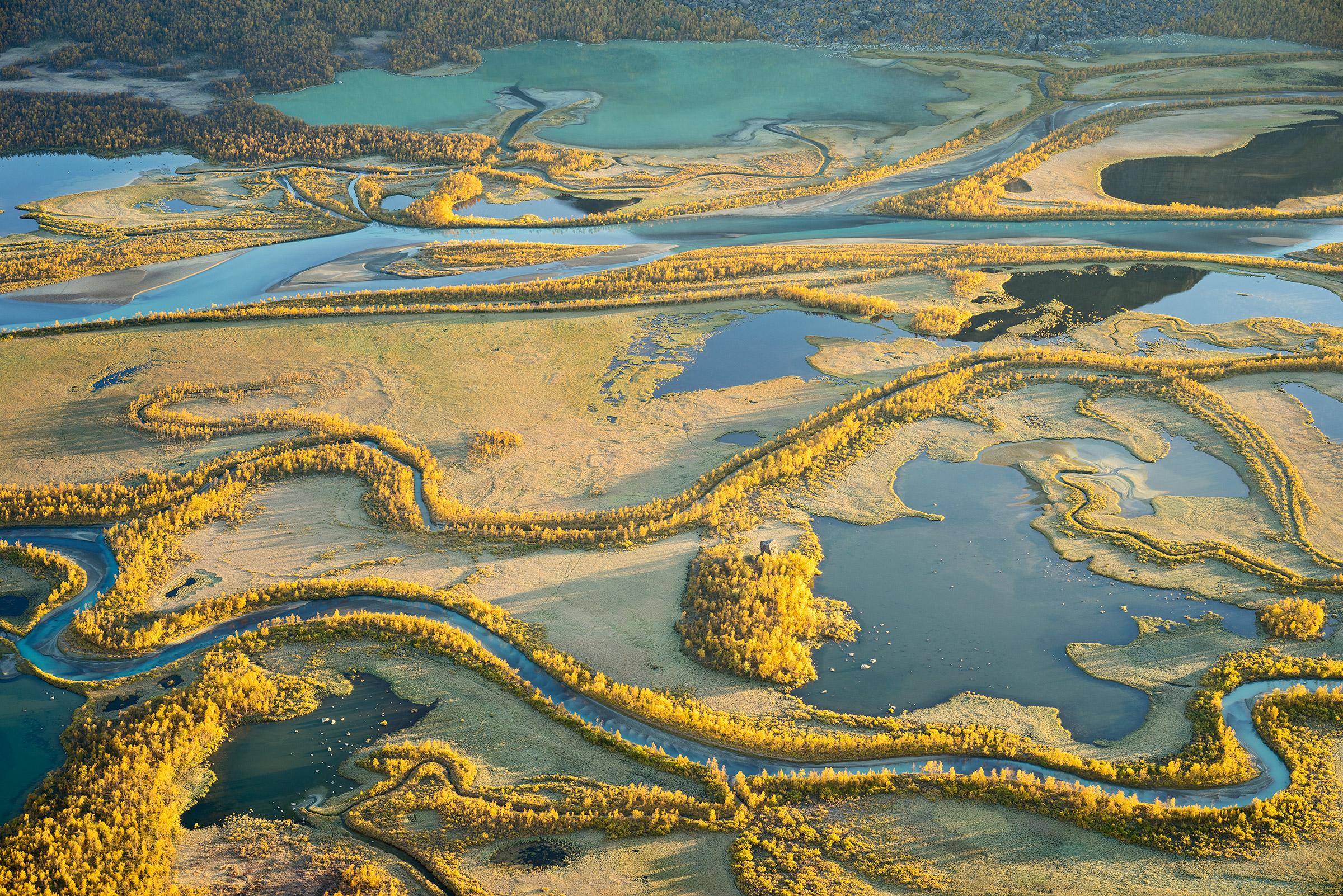Autumn Delta – Sarek National Park