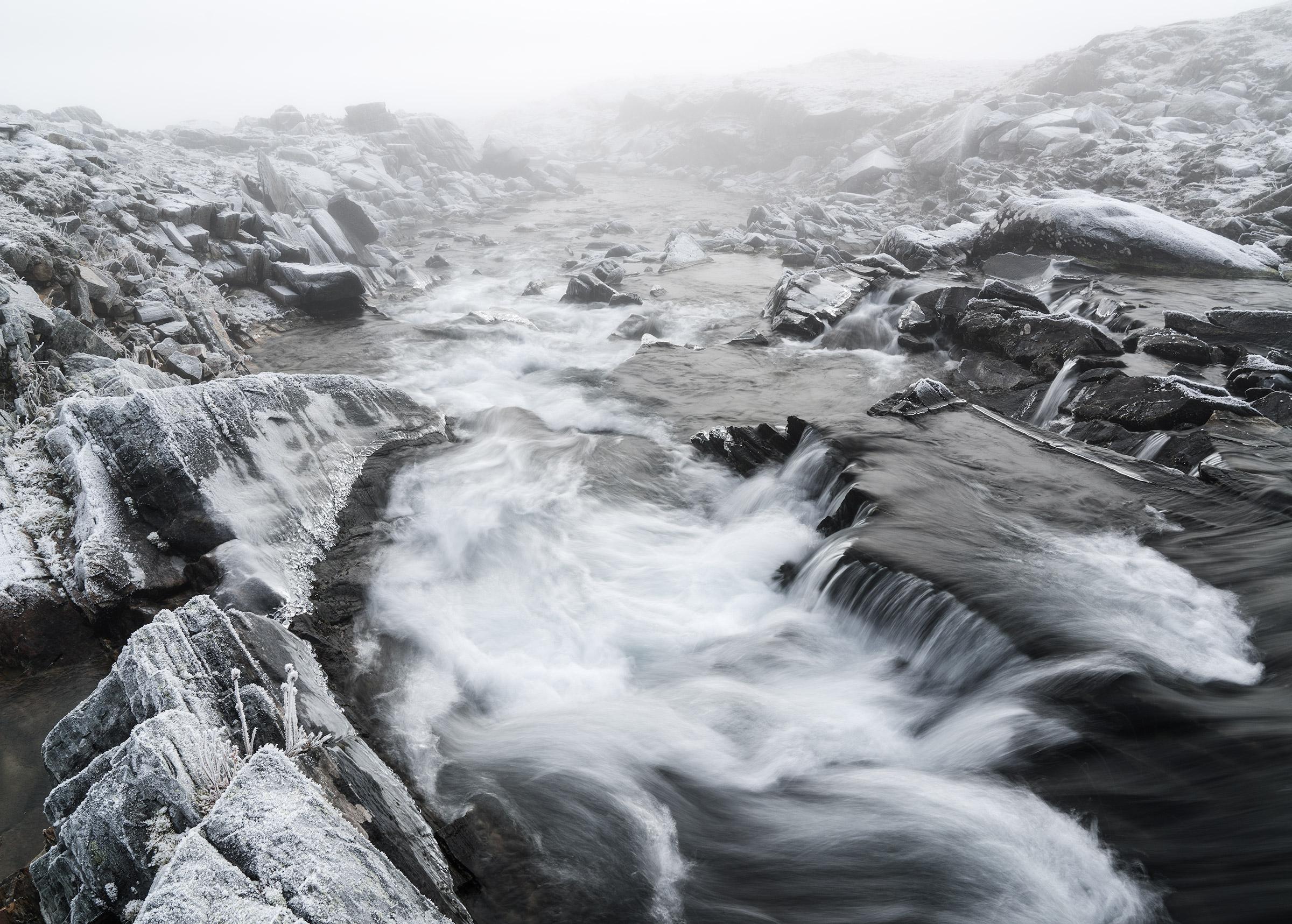 Frosty Stream – Sarek National Park