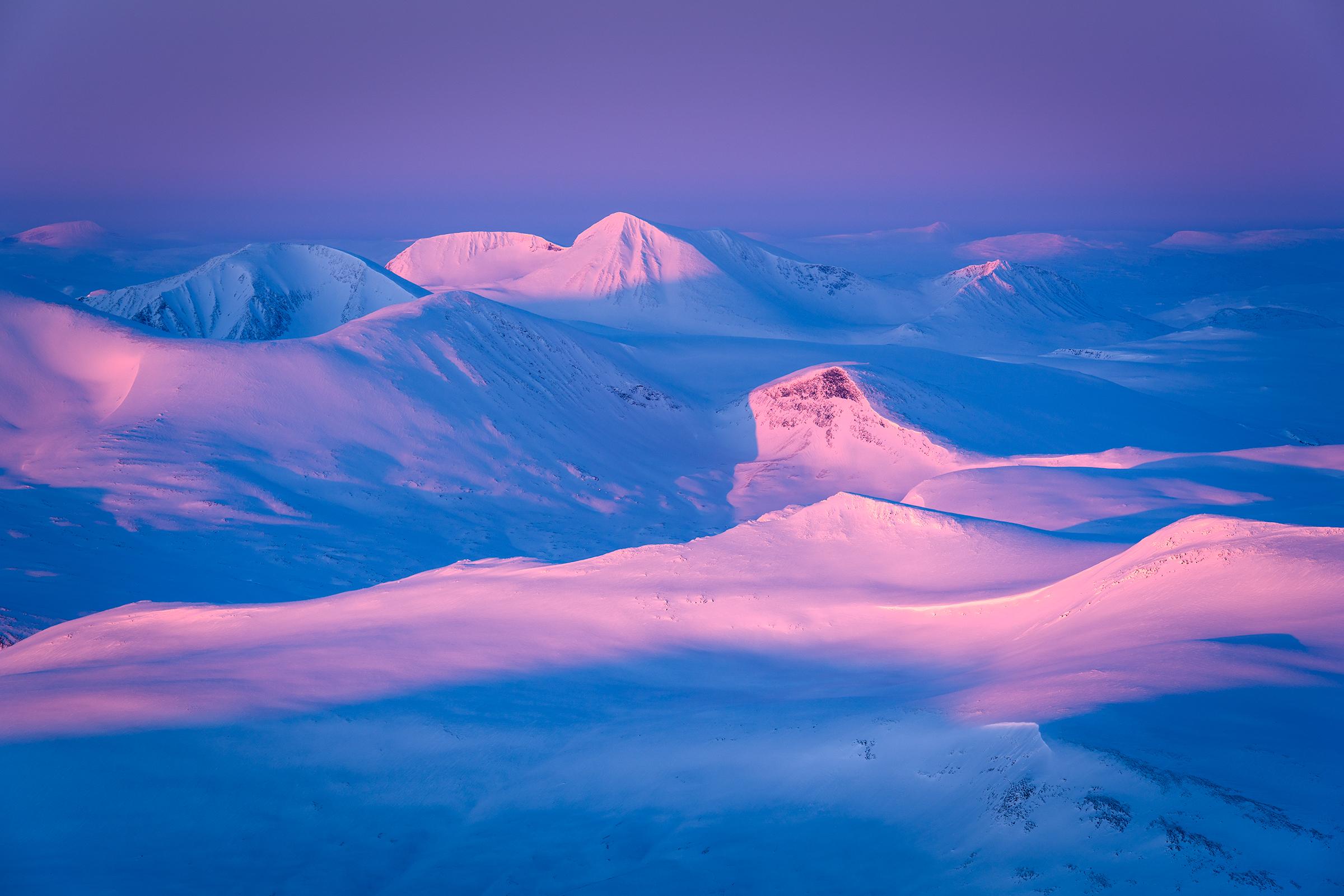 Winter Glow – Sarek National Park