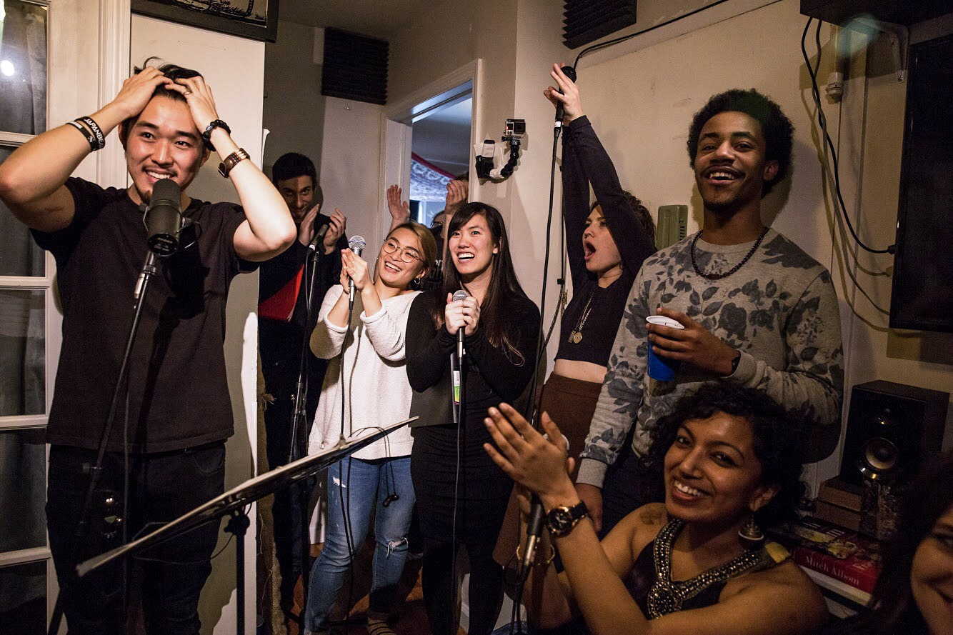 Apartment Sessions is… - breaking the boundaries of collaborative recording.
