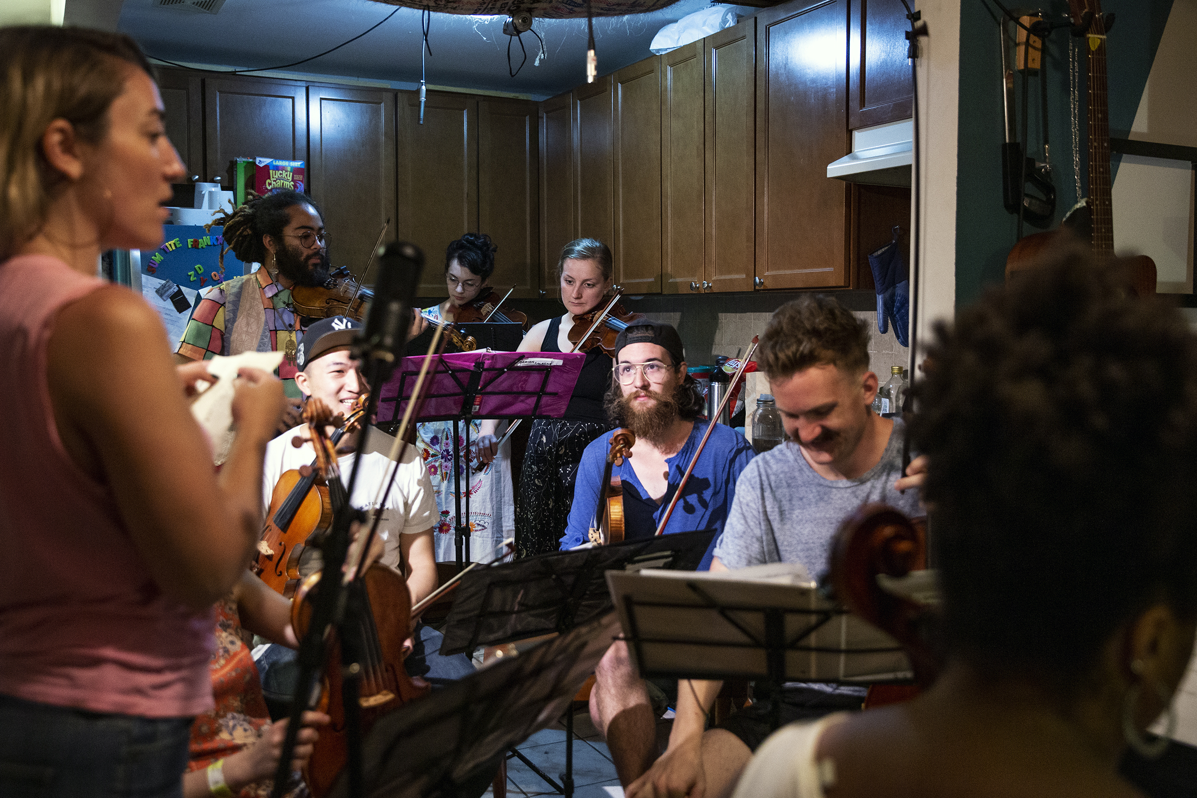 Centered around building a strong, diverse community through music and collaboration. -