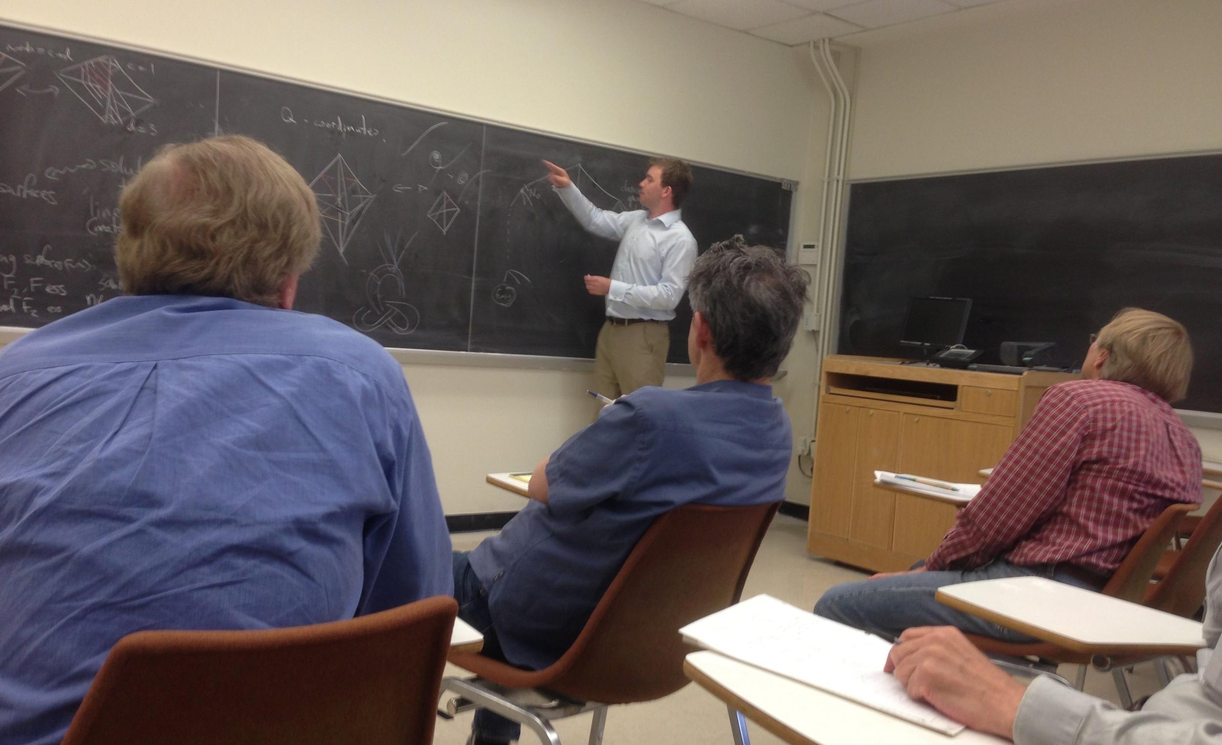 Topology Seminar, UT Austin, October 31st, 2011.