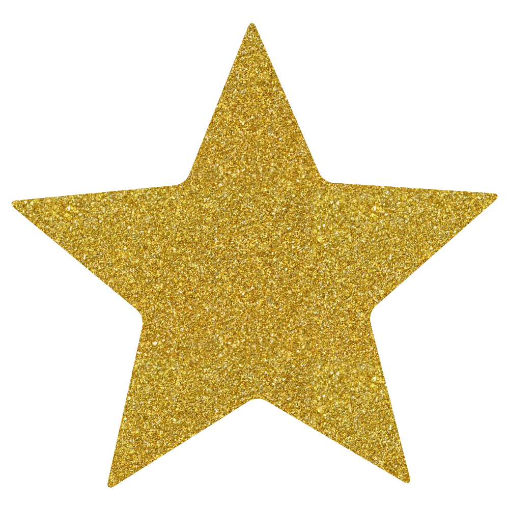 gold glitter star.png