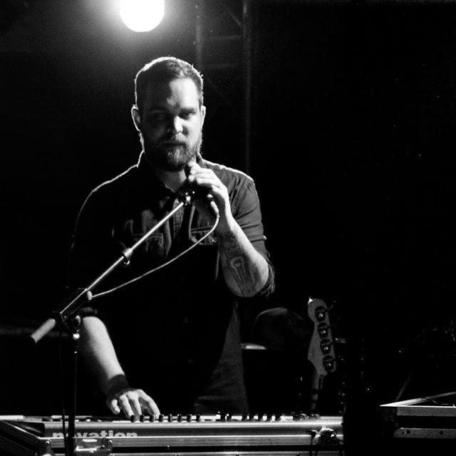 @jonathancagne being intense @newmorningparis 🔥 #live #music #novation  #blackandwhite #newmorning #wearemajor 📸 by @dans_la_lumiere