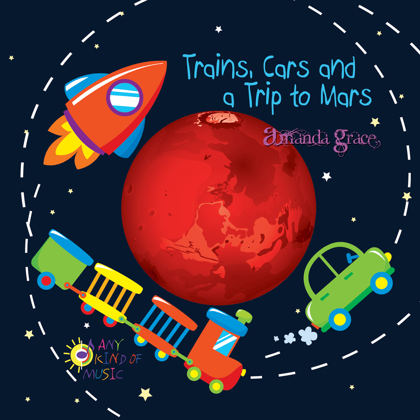 Listen to Trains, Cars and a Trip to Mars.