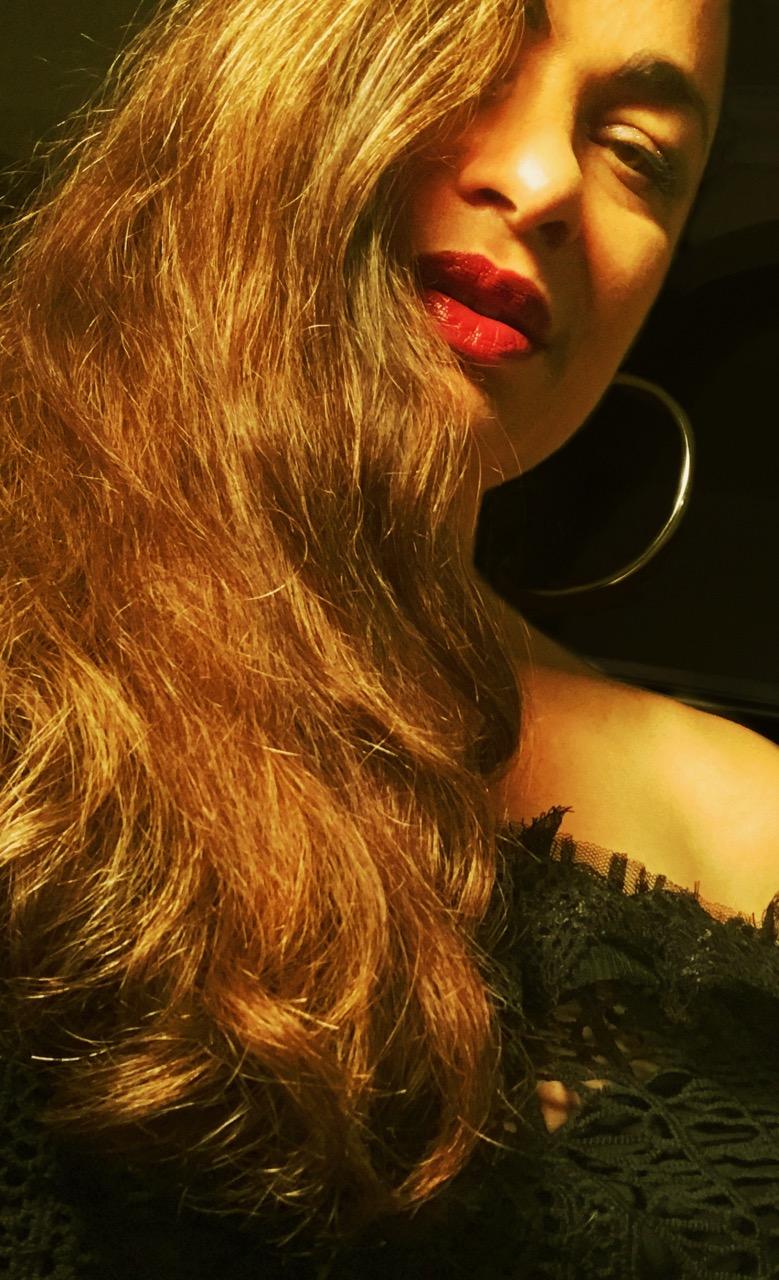 Vanessa Daou self portrait