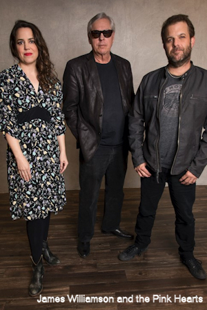 Petra Haden, James Williamson & Frank Meyer. Photo: Sarah Remetch