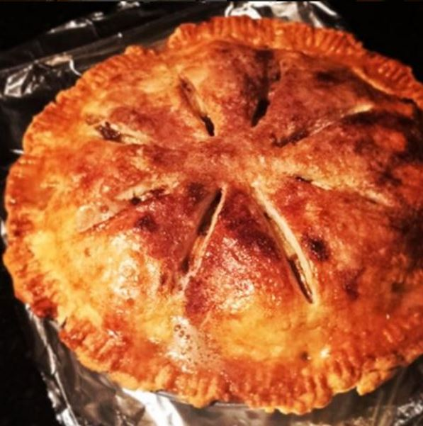 Apple pie I made to impress a boy who ended up being an idiot.