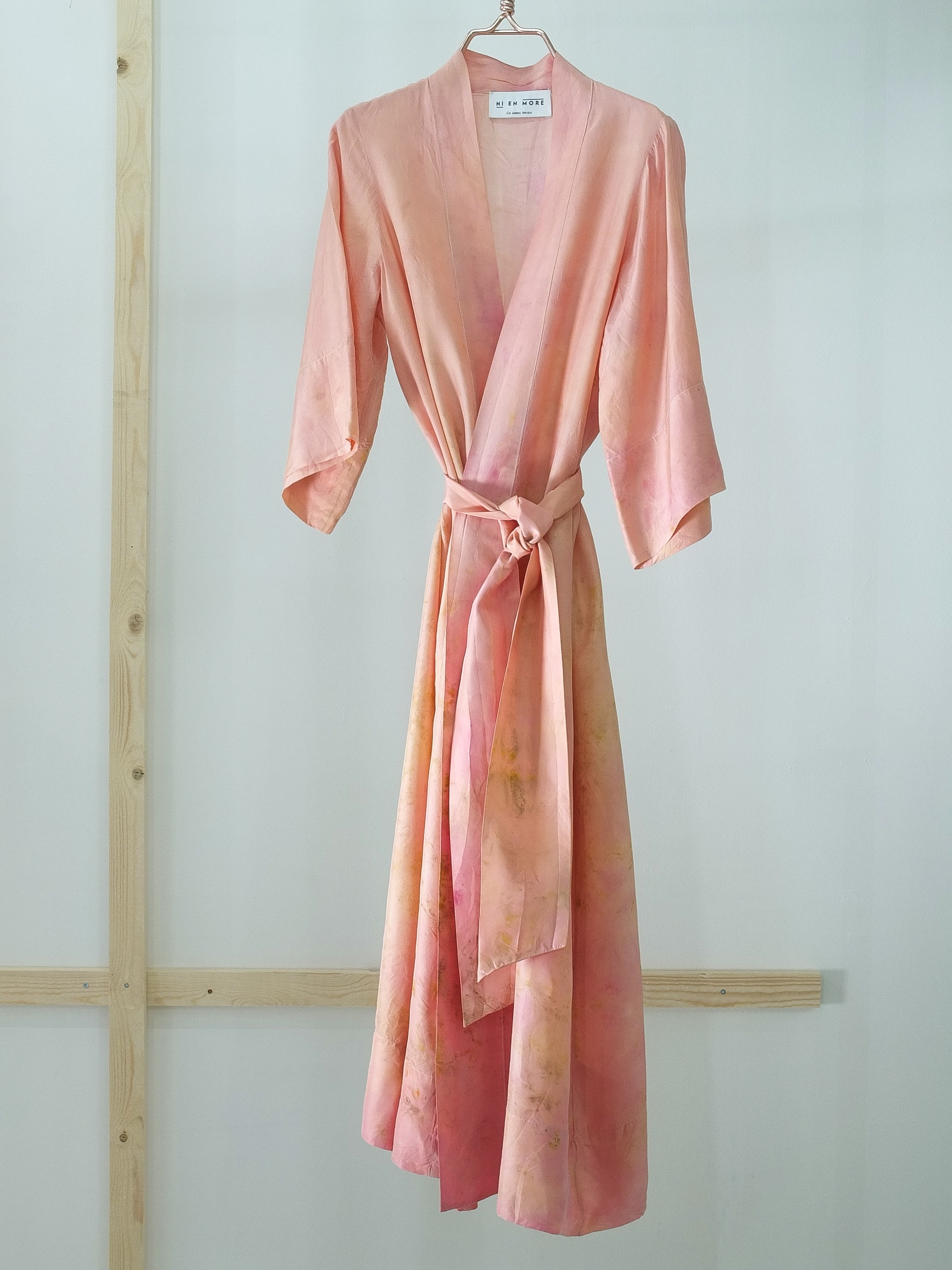 SILK ROBE · No. 8 OF 33 · SIZE MEDIUM