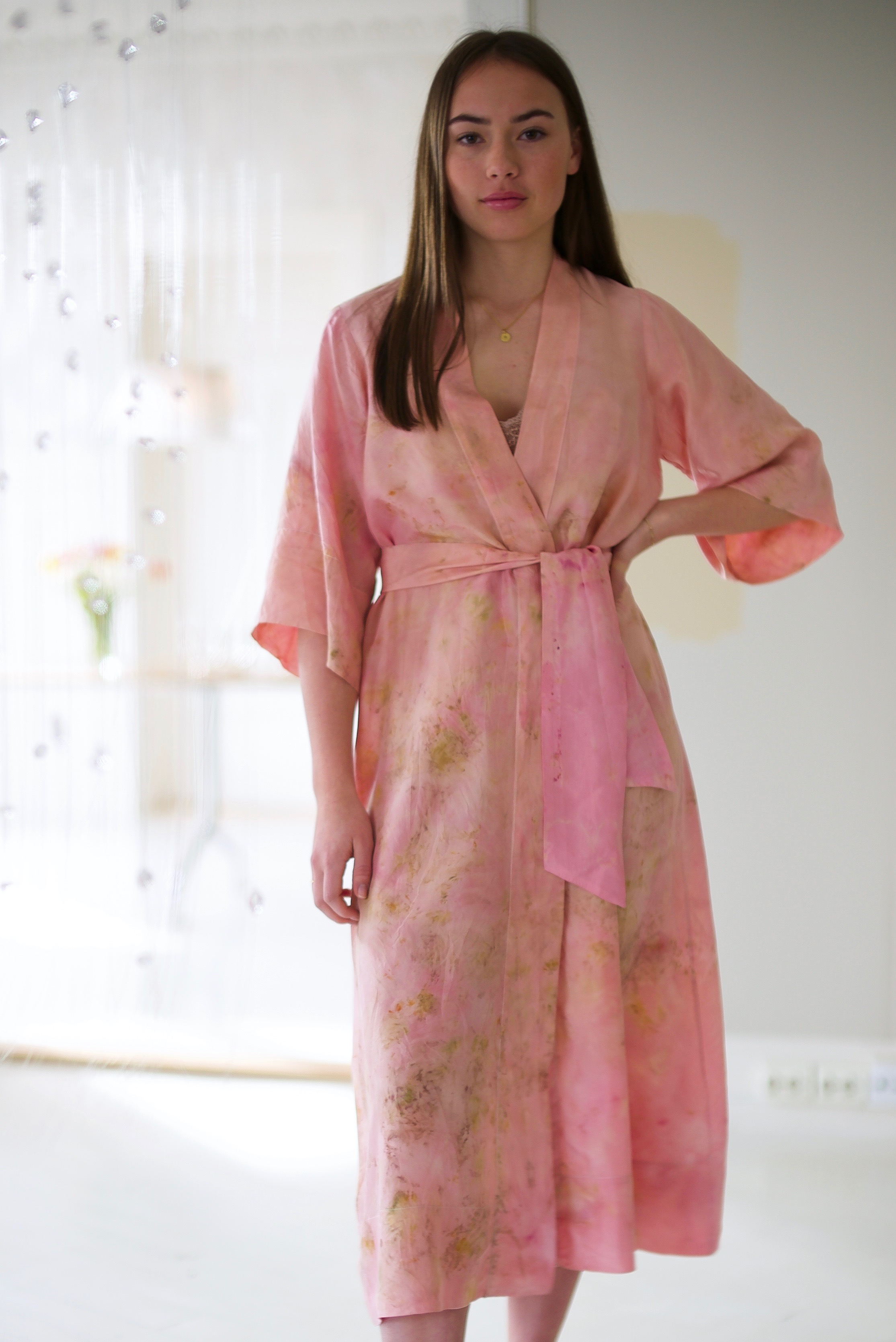 SILK ROBE · No. 16 OF 33 · SIZE MEDIUM