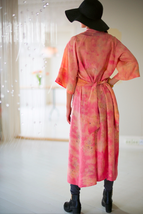 SILK ROBE · No. 1 OF 33 · SIZE SMALL