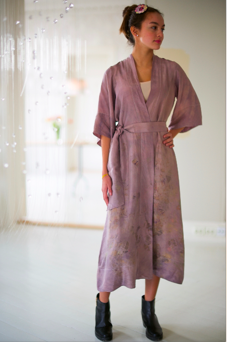 SILK ROBE · No. 2 of 33 · SIZE SMALL