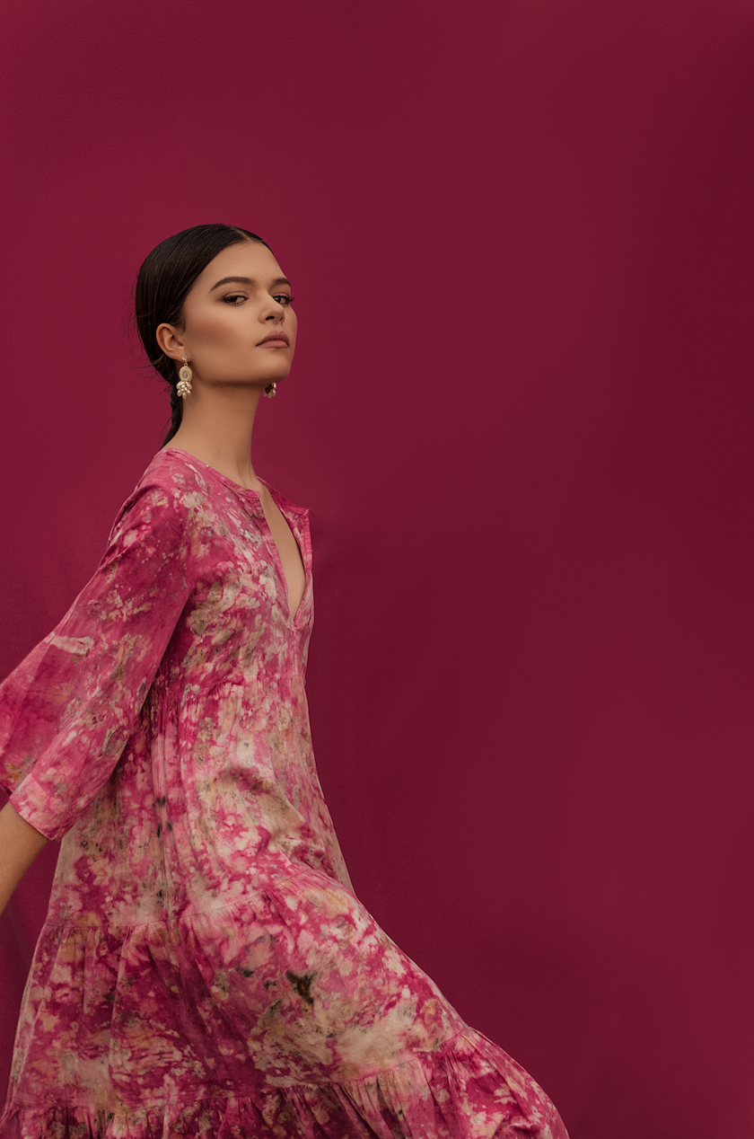 2 NI EN MORE dress, Cochineal 2.png
