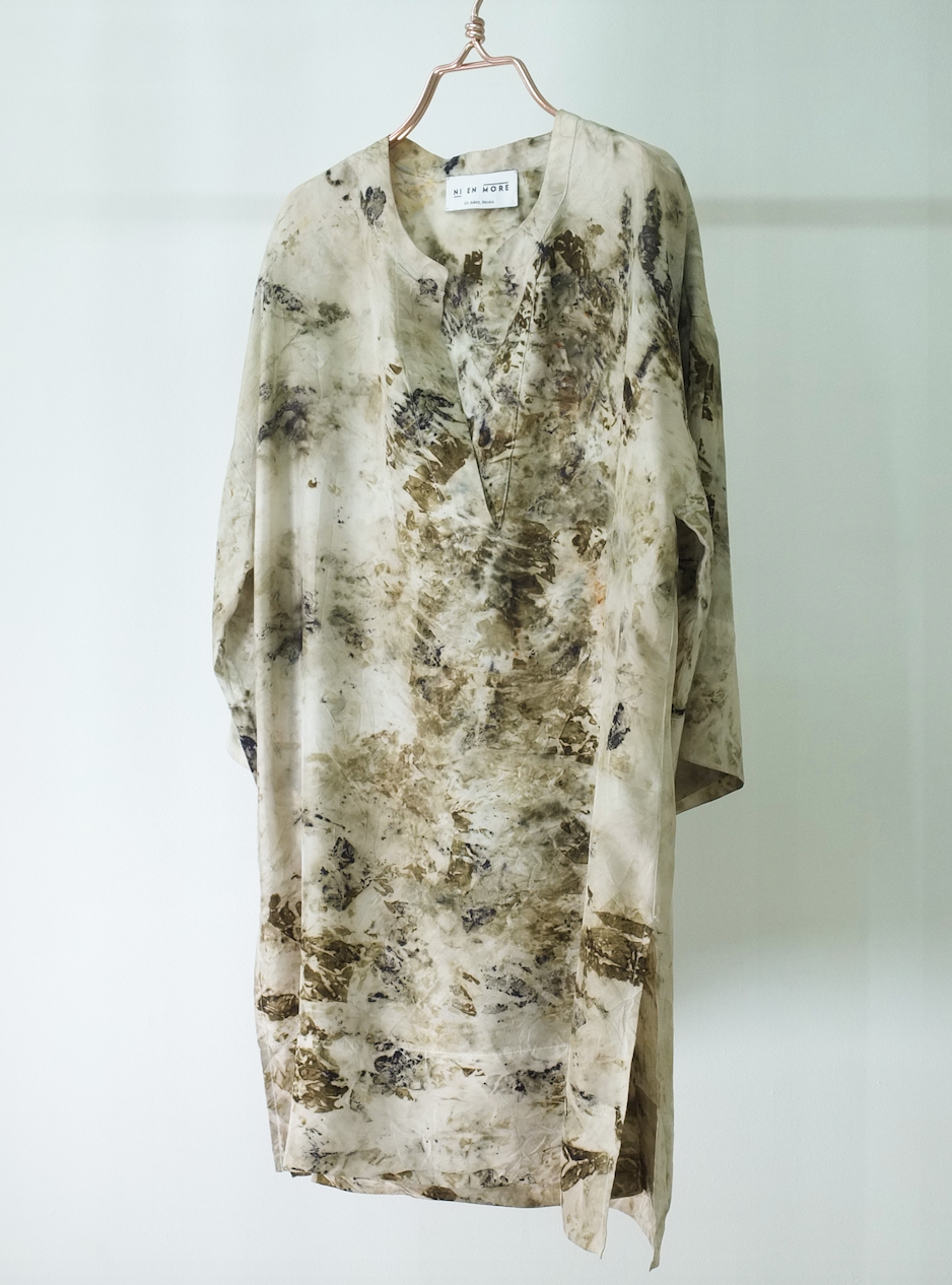 SILK TUNIC · No  . 13 OF 16  ·   SIZE LARGE