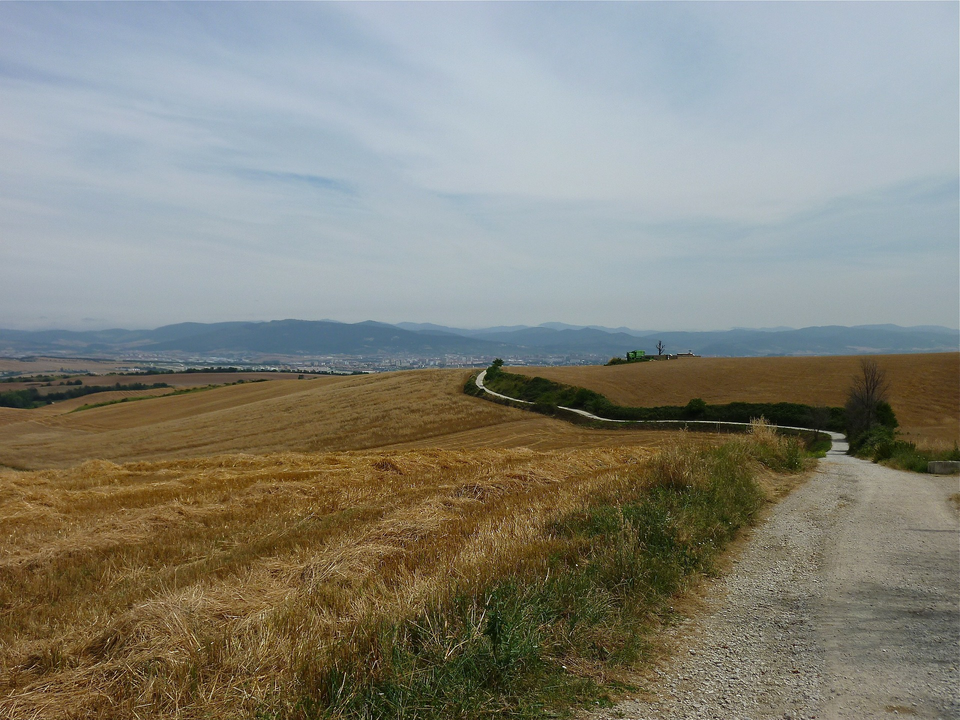 The Path out of pamplona