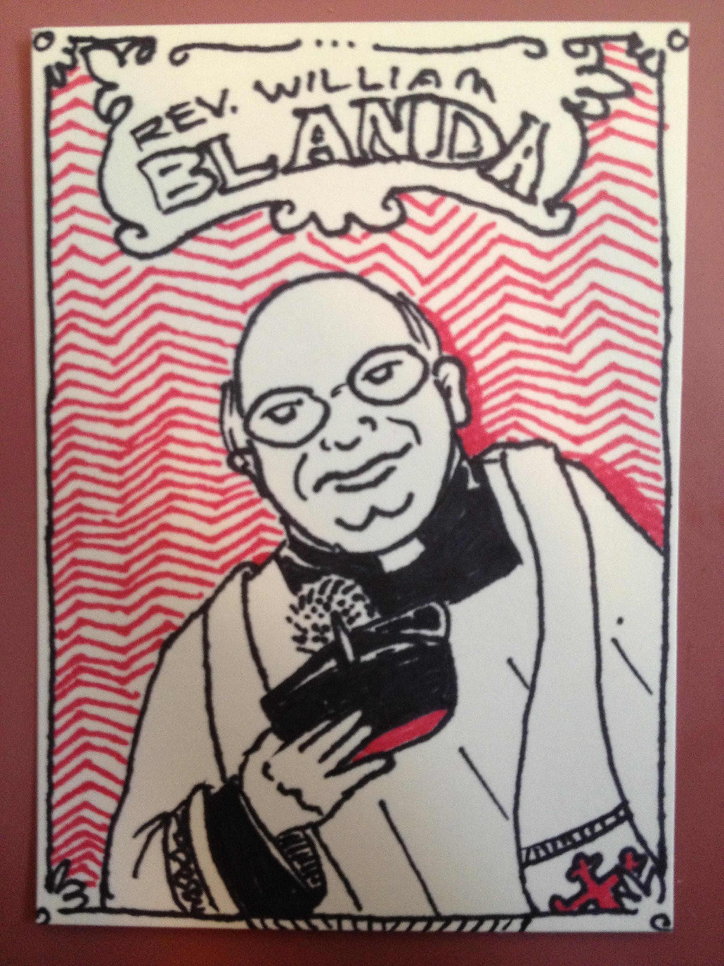 Fr. Bill Blanda Trading Card