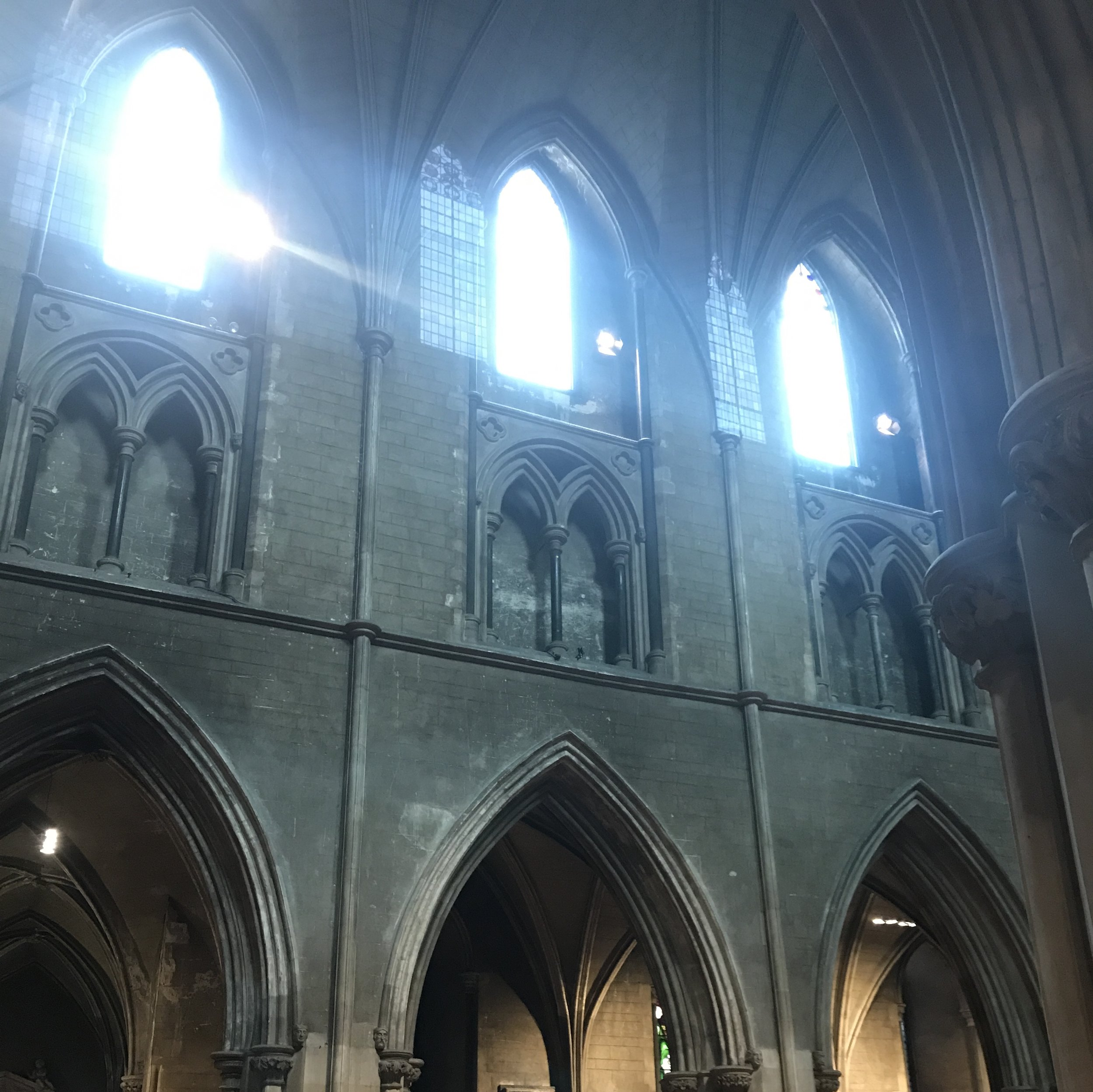 Windows from St. Patrick's Anglican Cathedral