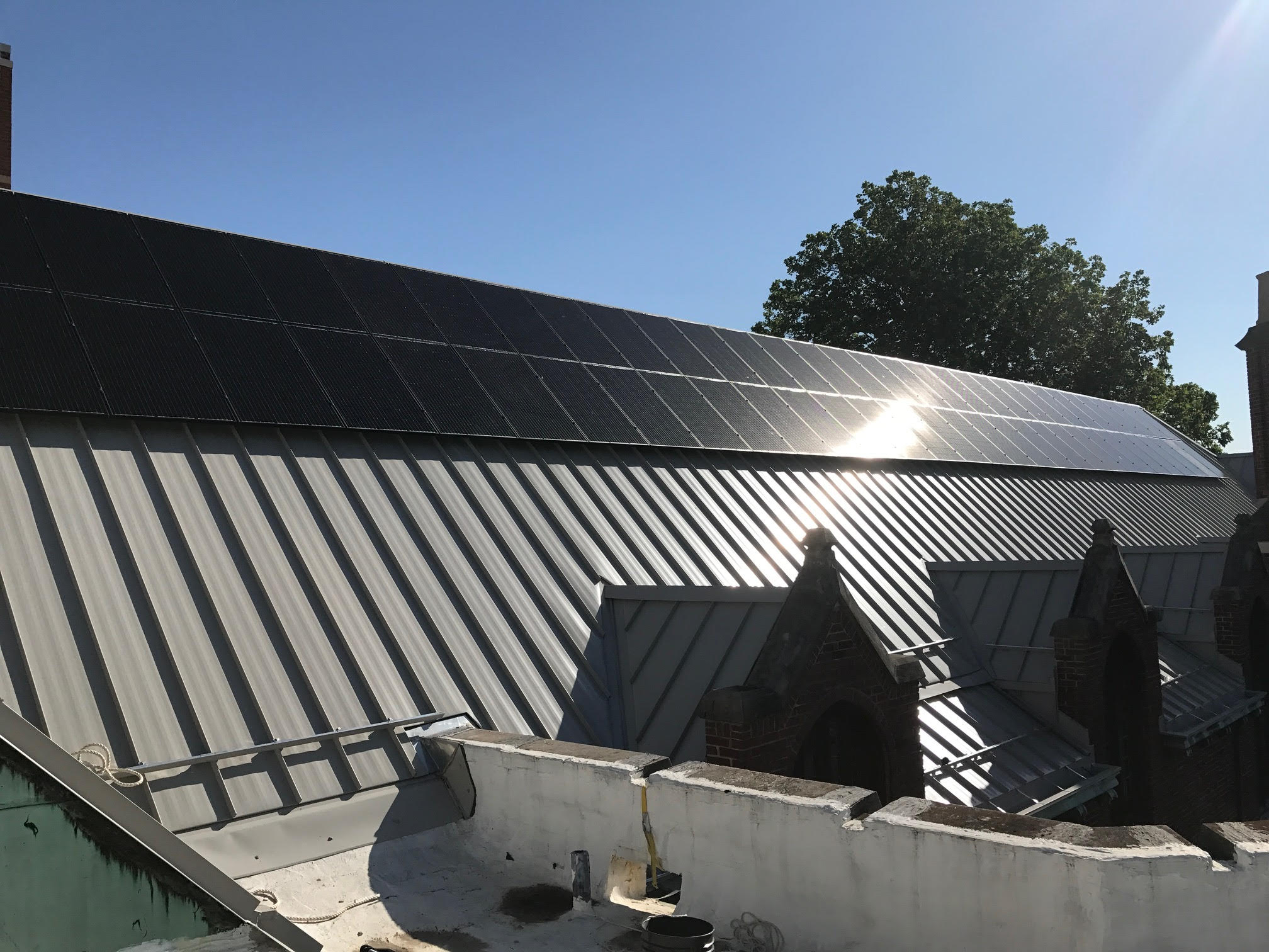 19.6kW Solar Array, McKinley Foundation, Champaign, Illinois