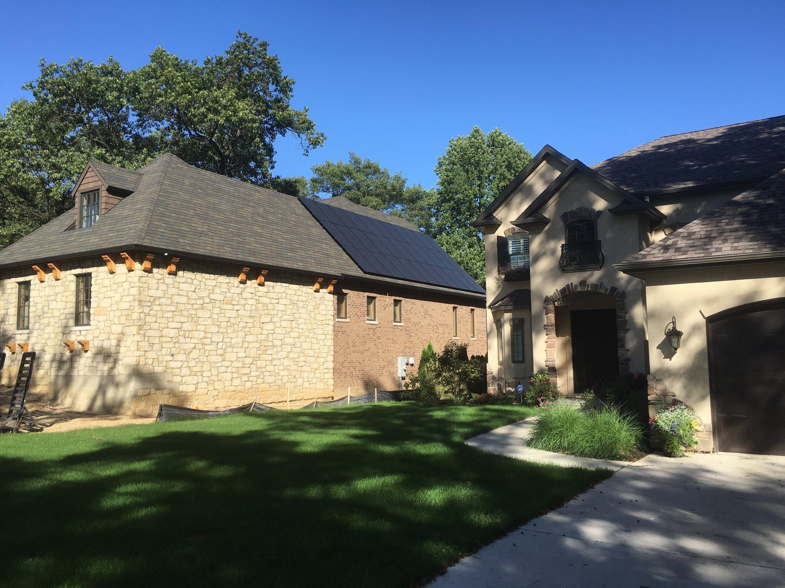 Peoria Heights, Illinois Home Solar Installation