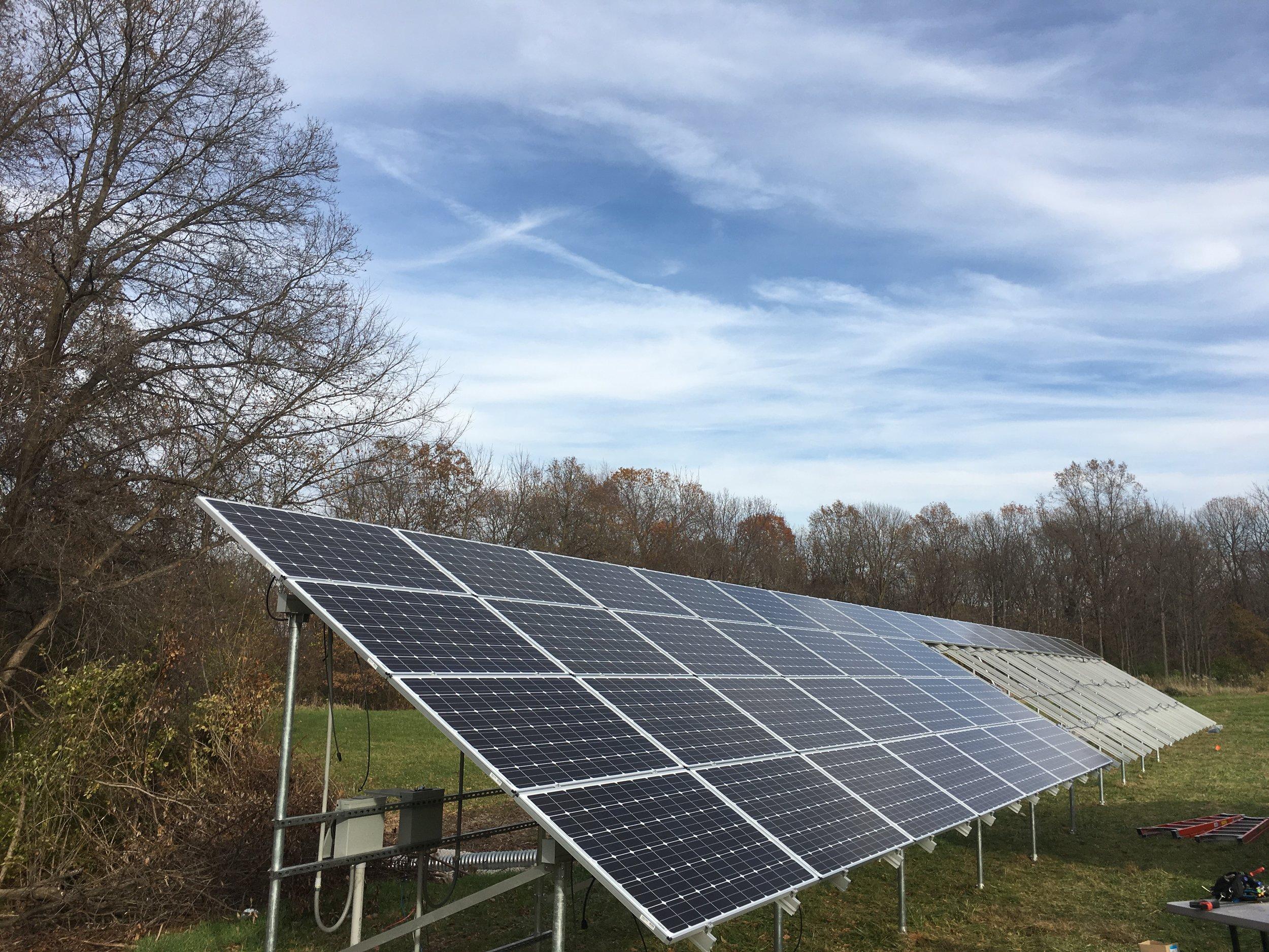 Brimfield, Illinois Home Solar Array