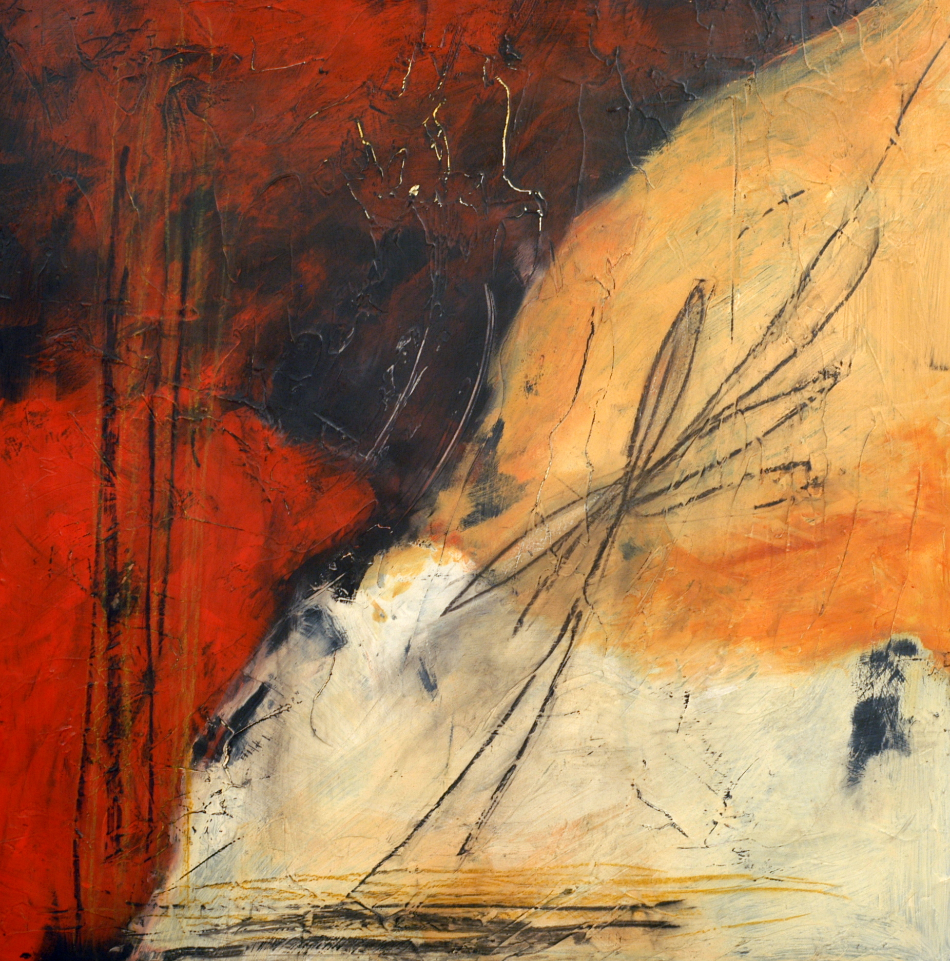 Convergence V by Sue Robertson