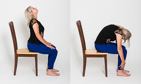 Chair Yoga - Trista Davis