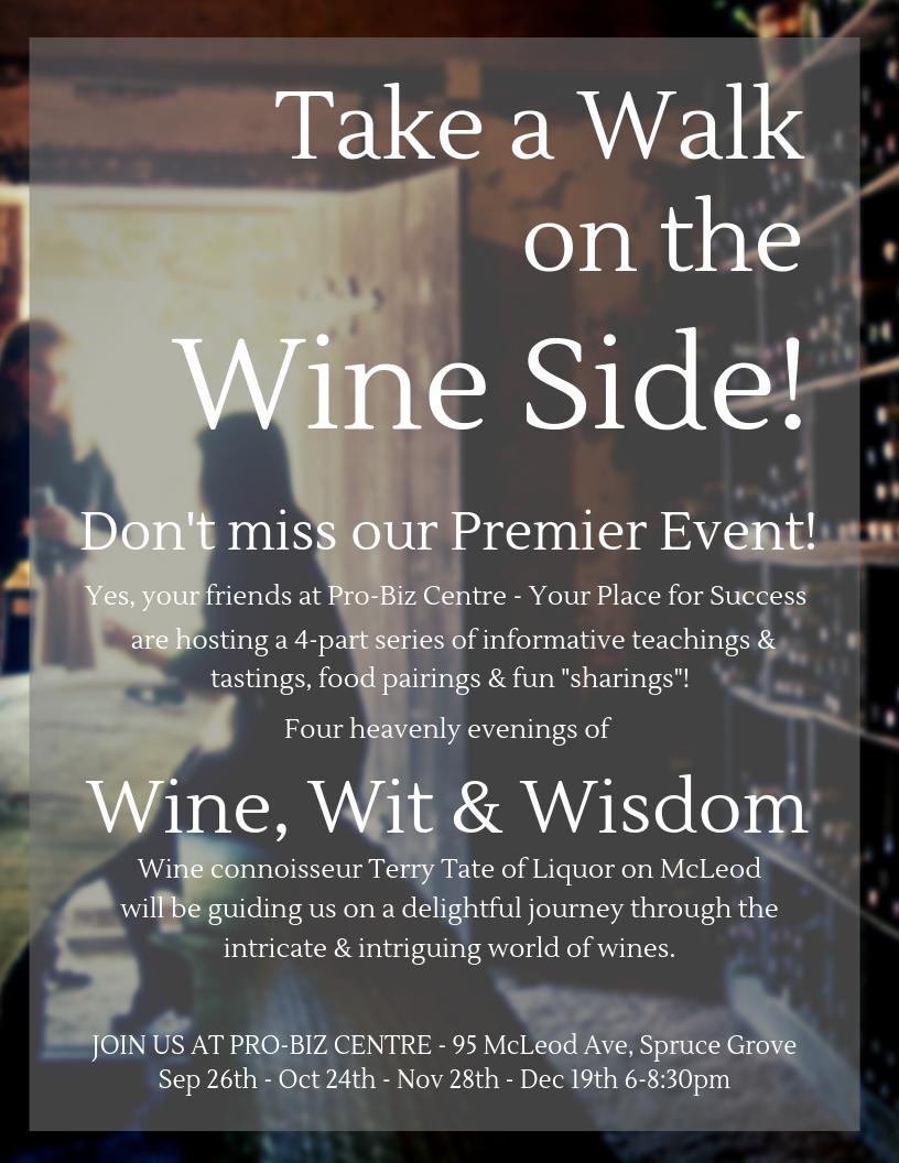 Take a Walk on the Wine Side