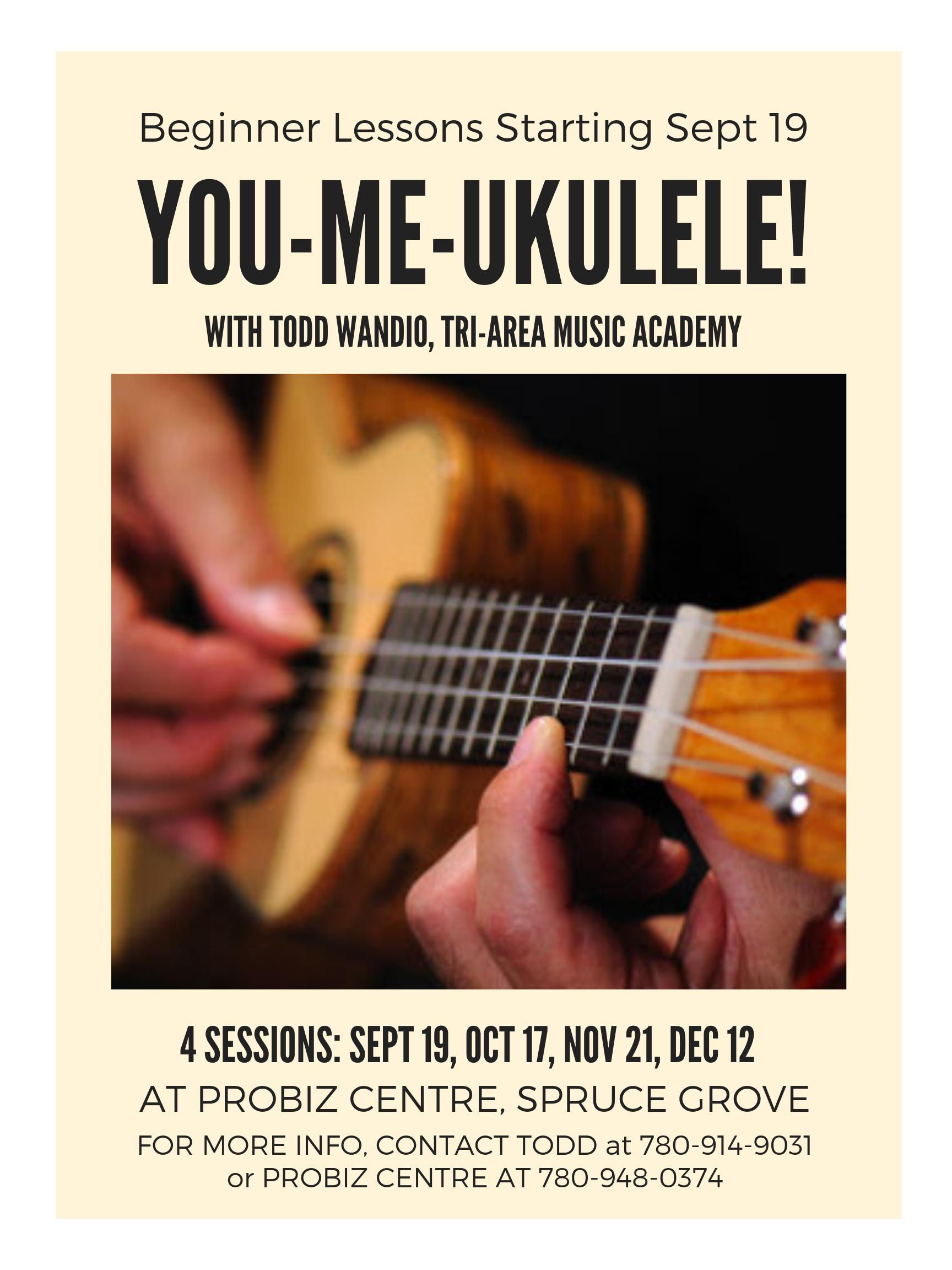 You-Me-Ukulele - Beginner Ukulele Lessons with Todd Wandio