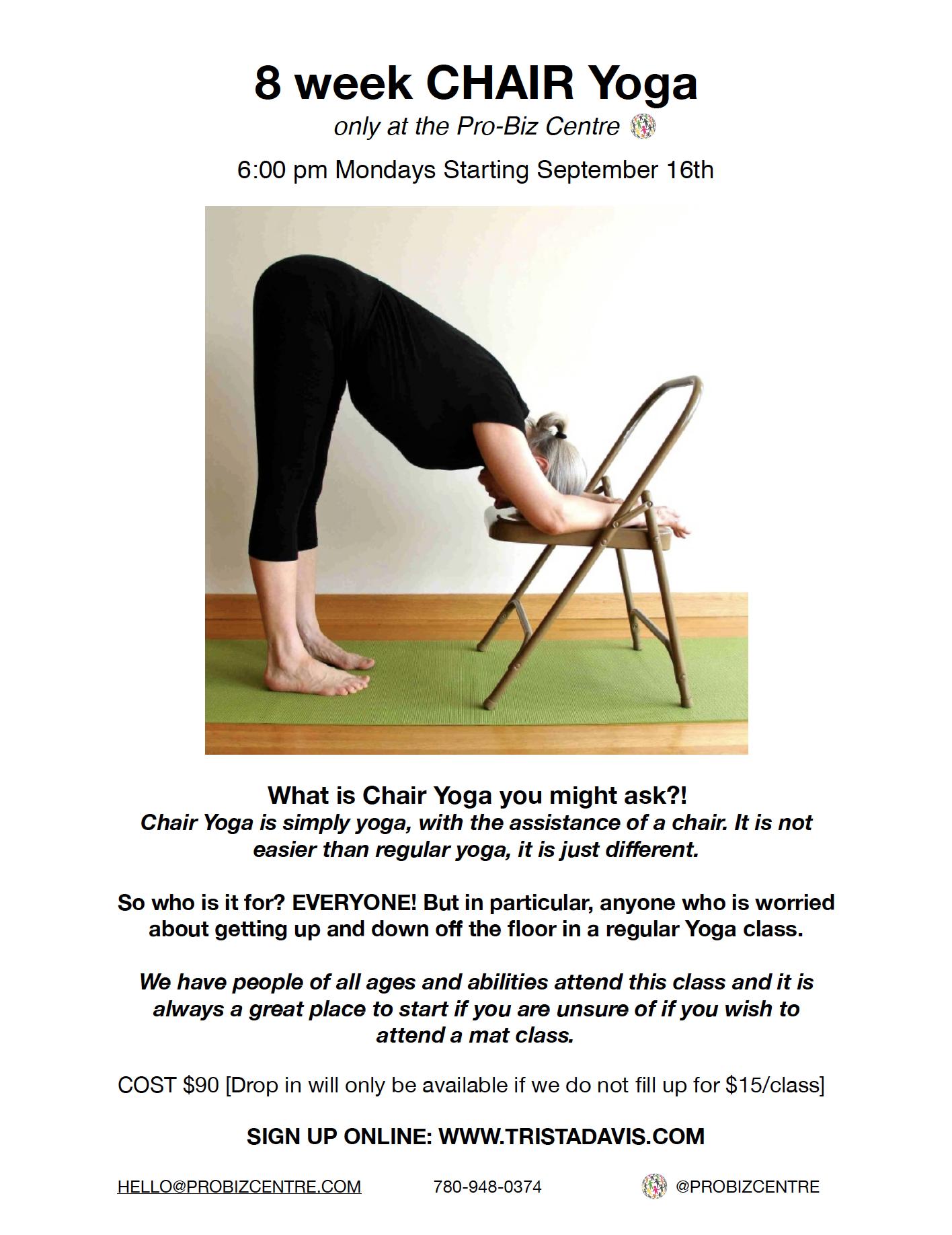 Chair Yoga with Trista Davis