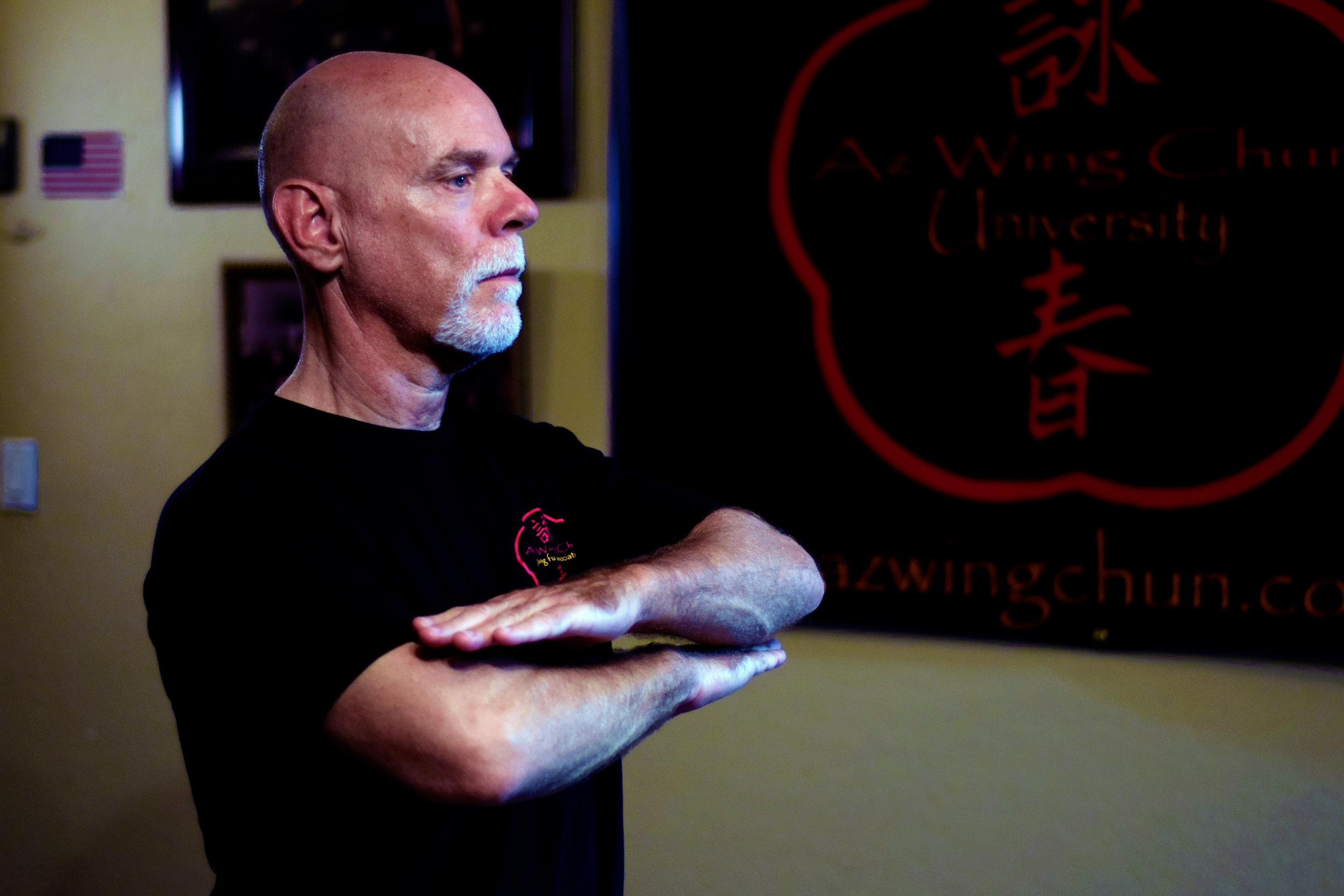 The Chum Kiu Form is an essential element in building your body unity.