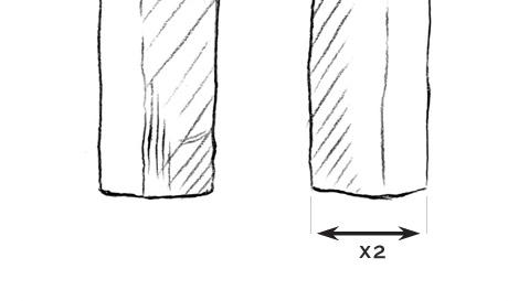 Leg Opening