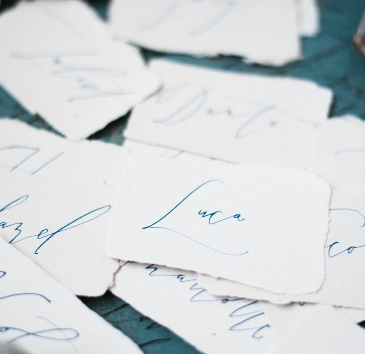 Sarah Pearl Studio Place Cards Fine Art Calligraphy