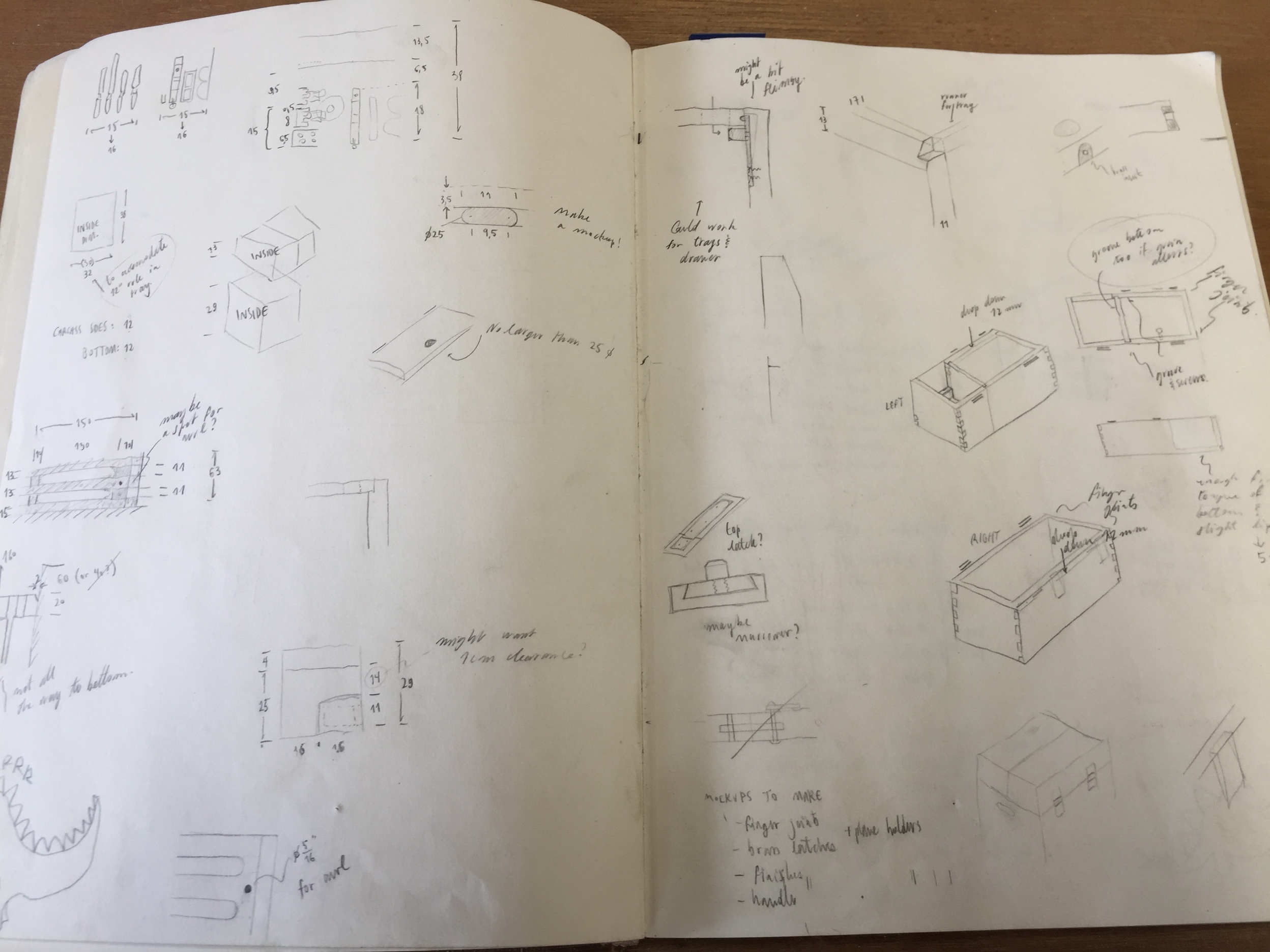 Plans for Owen's toolbox