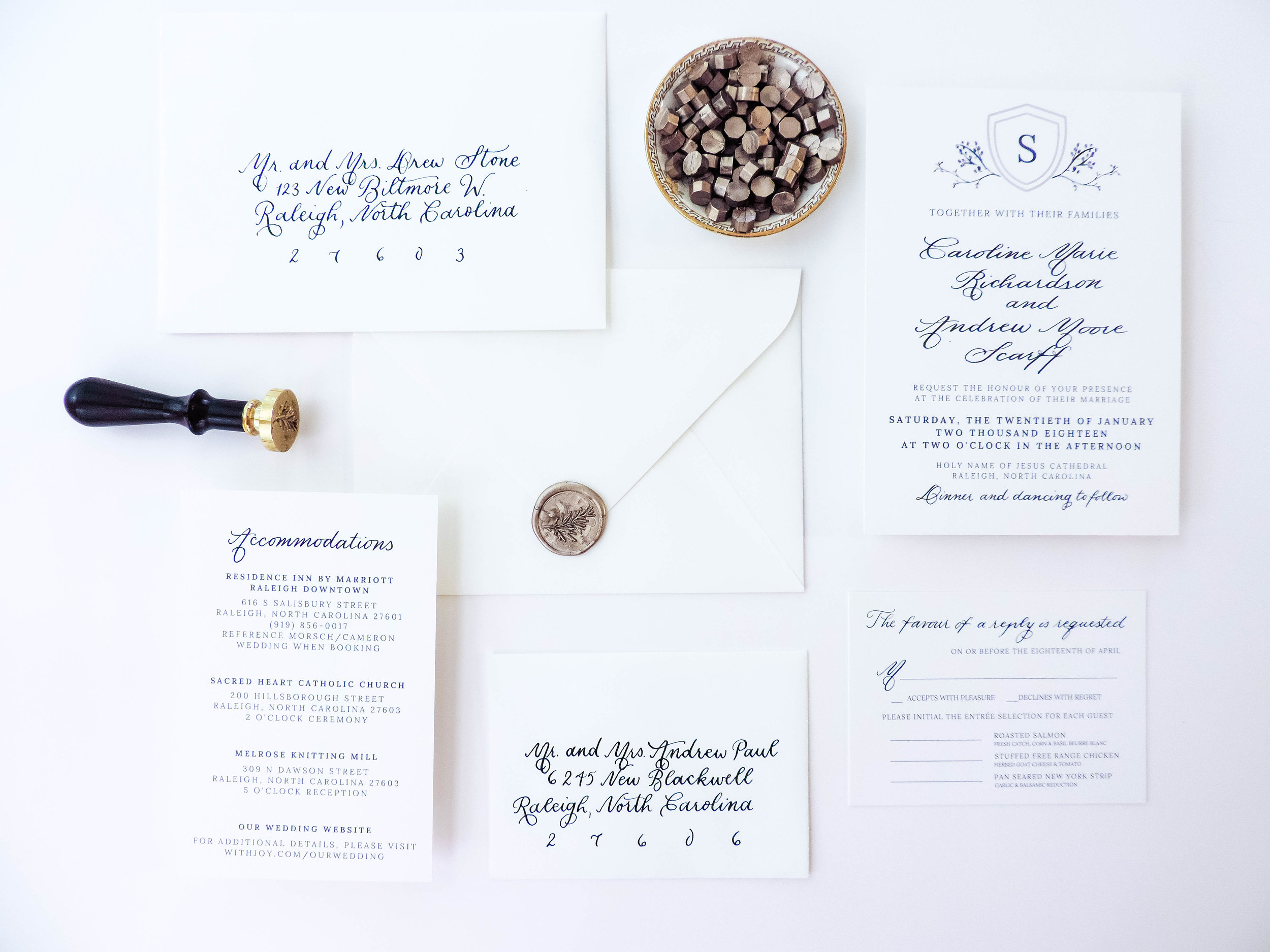 Raleigh Calligraphy & Design Wax Seal Help
