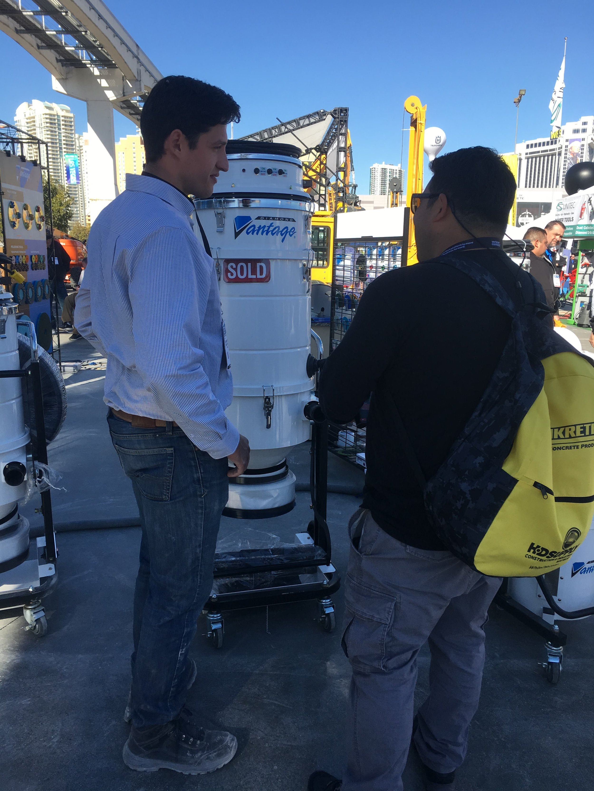 Latest and greatest equipment and methods at the world of concrete las vegas, nv
