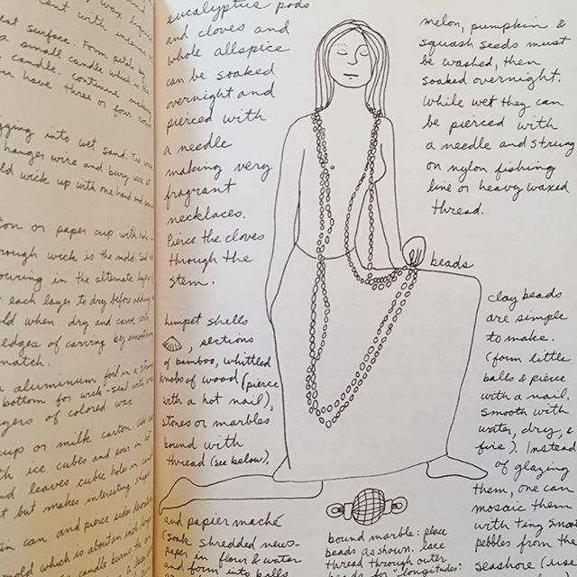 """The illustrations from the handwritten book, """"Living on The Earth"""", give me all sorts of inspiration for the @xo_stephberry rebrand. Thanks for sharing, Mom!"""