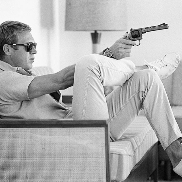 Steve McQueen and I just wrapped up a Shelf Talker for Goodnight Loving Vodka. Just leave me in the mid century please. I'll be fine here.