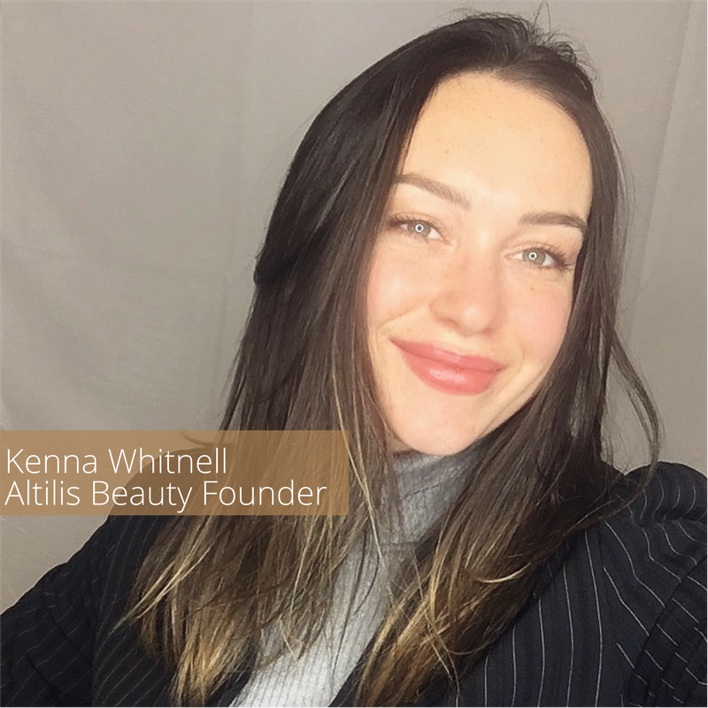 Kenna Whitnell, Owner and CEO of Altilis Beauty
