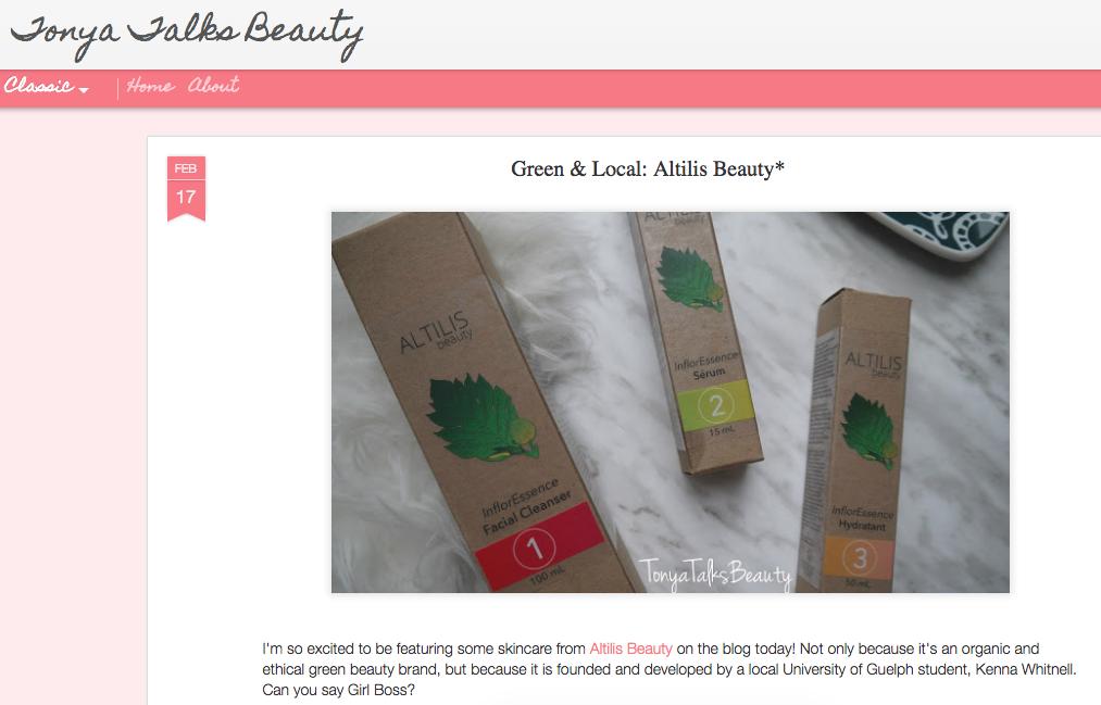 Tonya Talks Beauty - Beauty Blogger Review