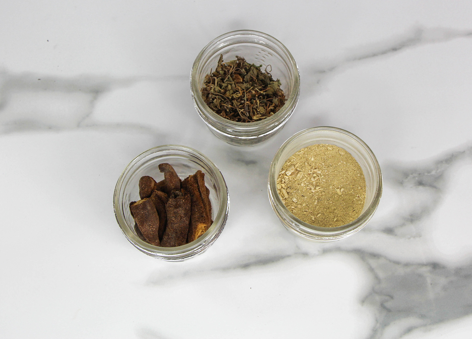 Dried Breadfruit Flowers, Gotu Kola and Soapwart - all beneficial ingredients found in the Altilis Beauty Product Line. See  here  for some more of our ingredients and their benefits.