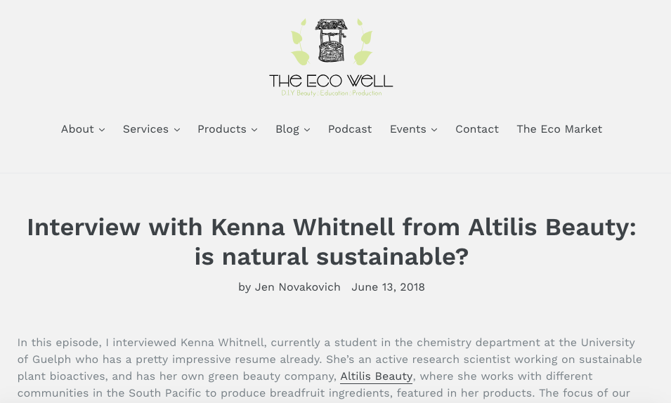 The Eco Well - Podcast Episode