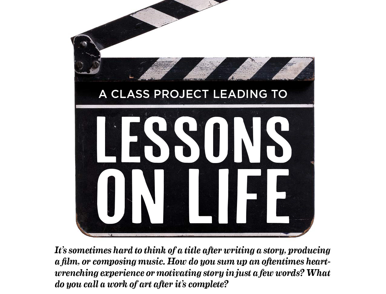 Iolani School Magazine - Lessons On Life